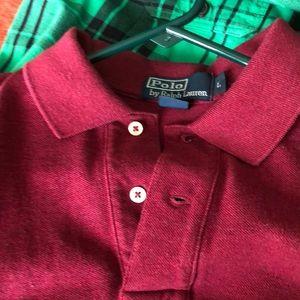 Polo by Ralph Lauren Shirts - Burgundy Ralph Lauren Polo